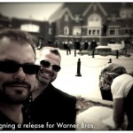 Just signing a release for Warner Bros.